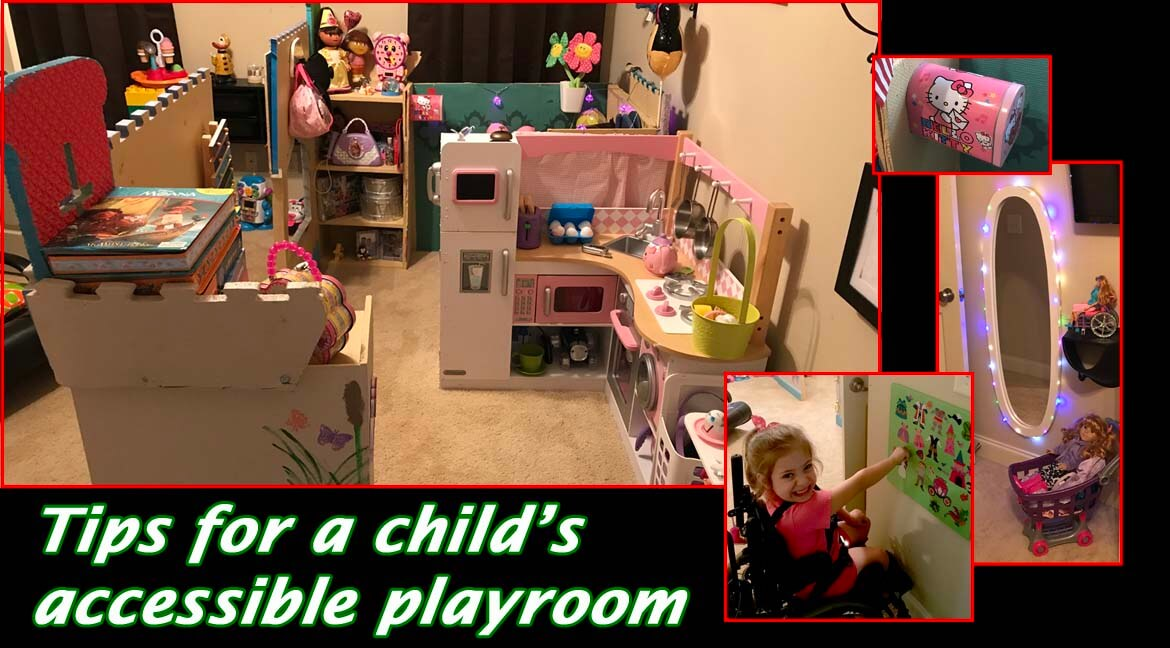 Tips for an Accessible Child's Playroom (Video)