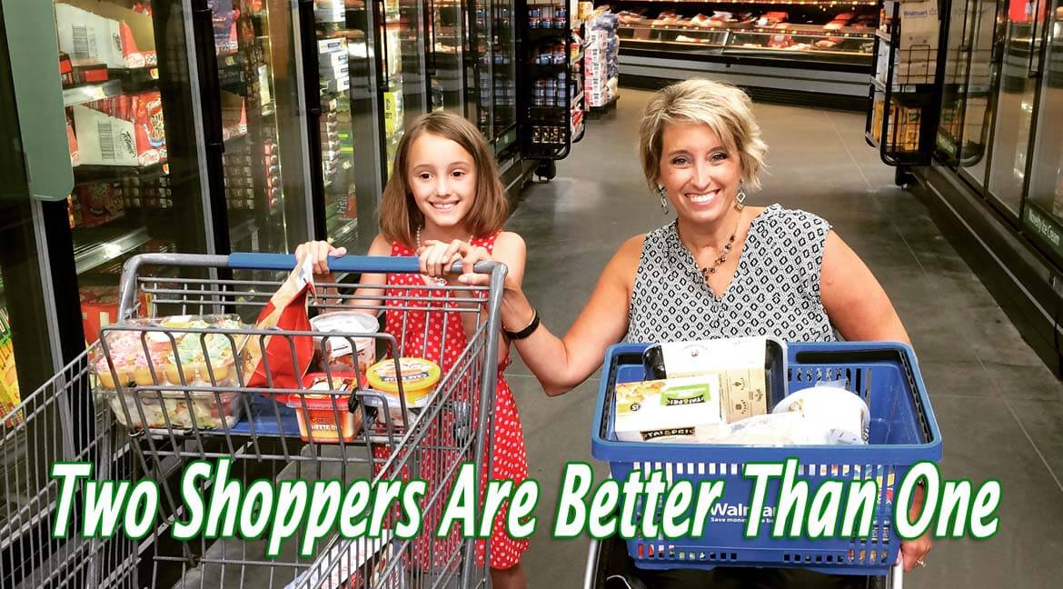 Two Shoppers are Better Than One